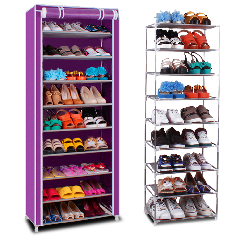 Silver billion shoe simple multilayer nonwoven dust dormitory combination shoe shoe shoe storage rack shelving shipping