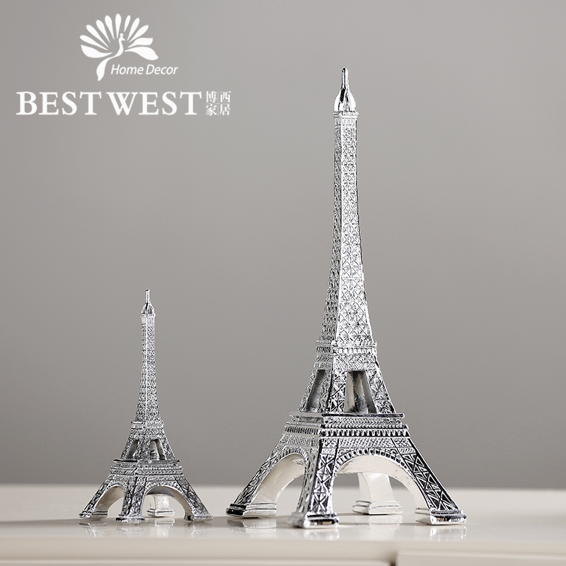 Simple and modern bestwest tower indoor living room den home small ornaments crafts creative decorations