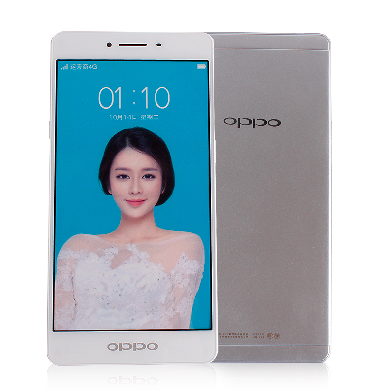 Simple mobile phone model r7s apply oppo mobile phone model machine turned simulation display machine