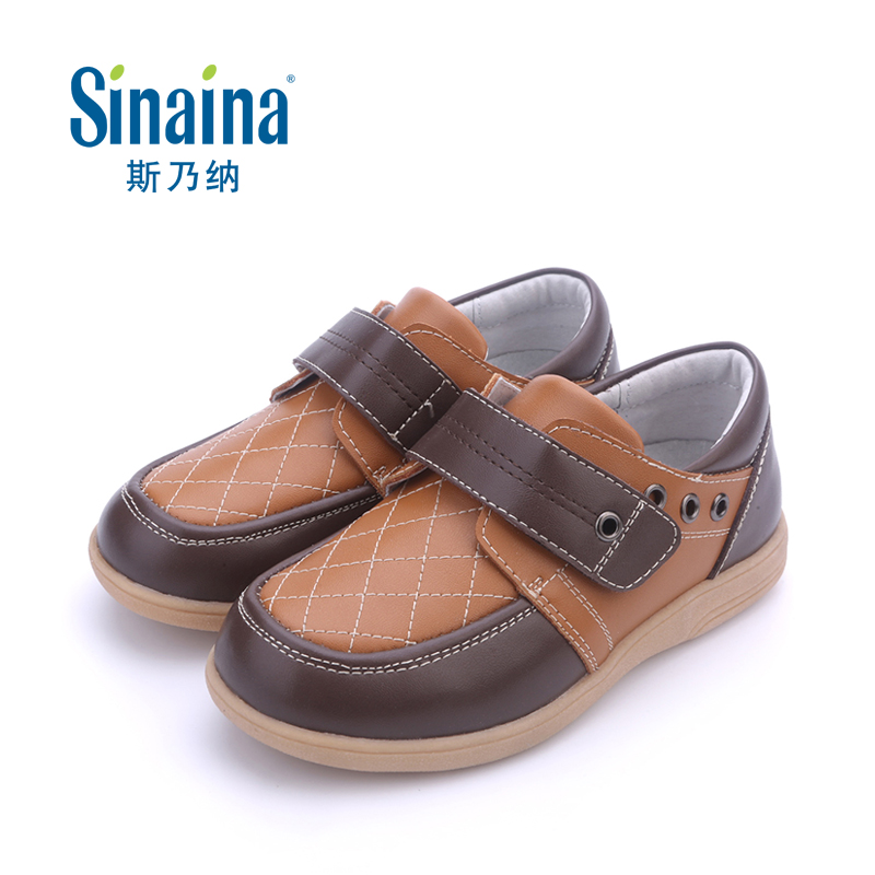 Sinai satisfied counter 2016 spring leather shoes boys shoes children shoes student shoes male children shoes