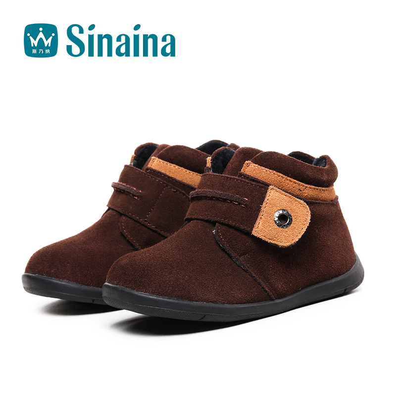 Sinai satisfied shoes boys 2016 winter new baby shoes boy casual shoes comfortable leather shoes children's shoes for boys