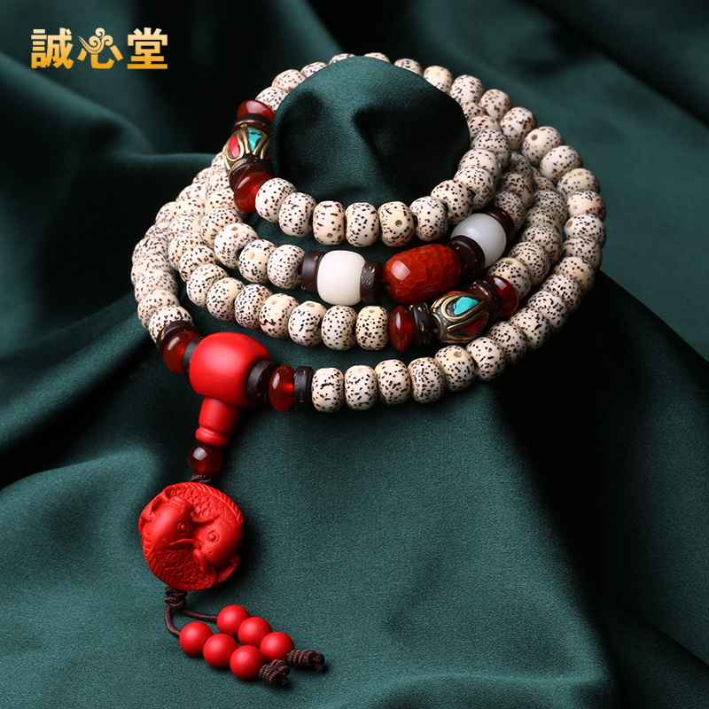 Sincerely church xingyue pu tizi 108 prayer beads bracelets bracelet beads apple barrel bead 6*8 a female models fine chain series