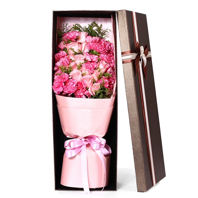 Get Quotations Siping City Flower Delivery To Send His Girlfriend Confession Birthday Gift Bouquet Of Red Roses Nationwide