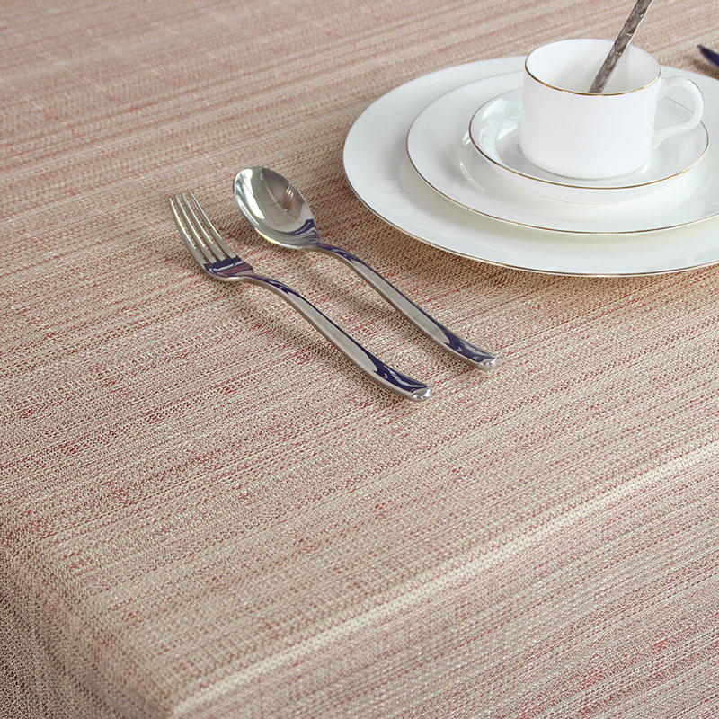 Sixstar minimalist style imitation linen table cloth table linen table size 6 dp processing drape shipping