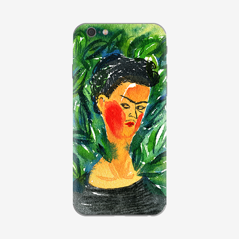 Skinat artist series (tribute freda) iphone6s/6 creative mobile phone film sticker