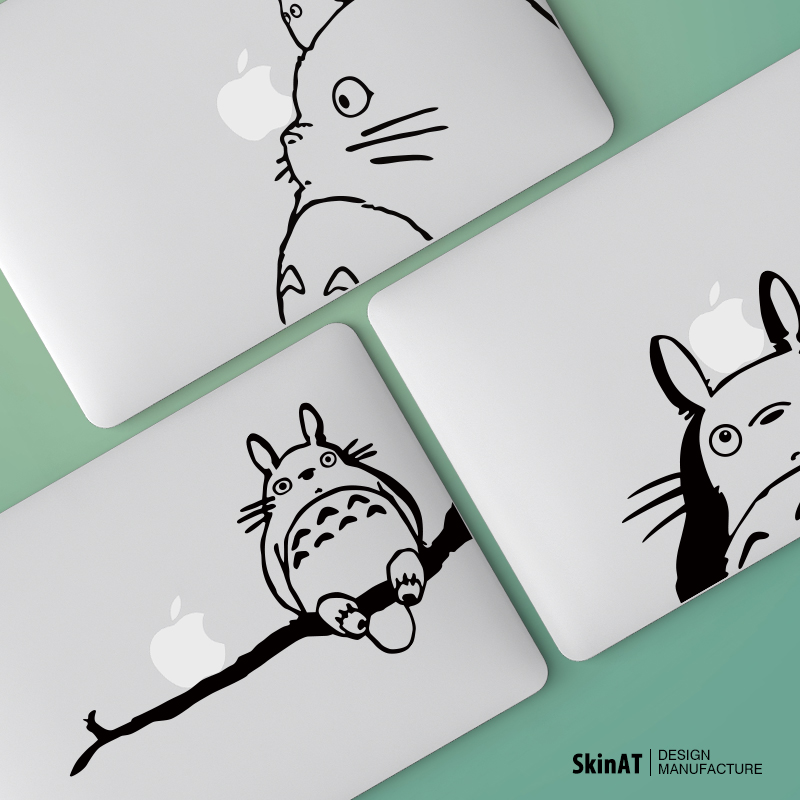 Skinat macbook pro macbook air apple laptop stickers personalized color film thin film