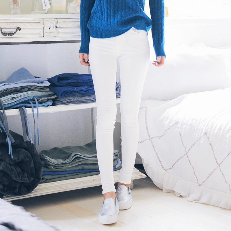 Slim casual pants female trousers thin section spring 2016 new korean version was thin wild pencil pants feet outer wear trousers