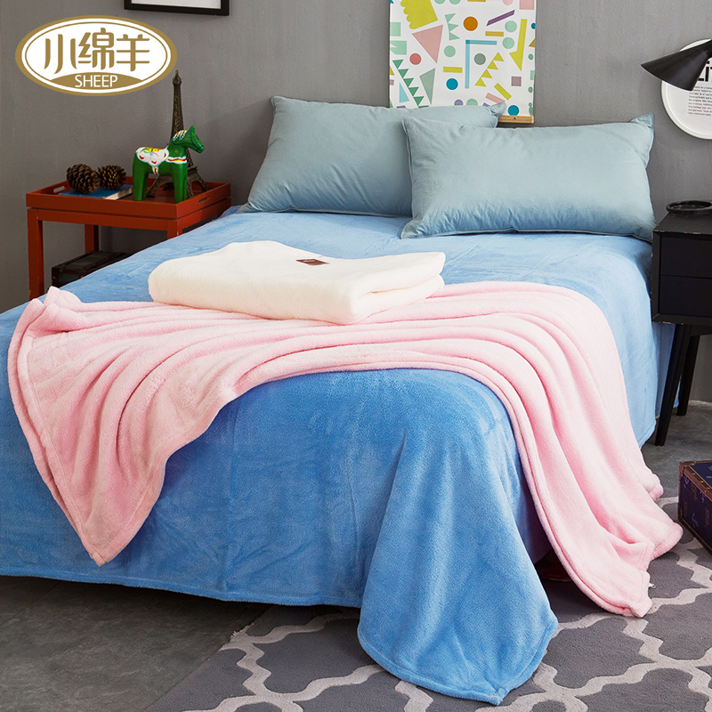Home Textile Helpful Colorful European Cotton Blanket Office Lunch Blanket Breathable Air Conditioning Blanket Thick Sofa Blanket Full Cover Home & Garden