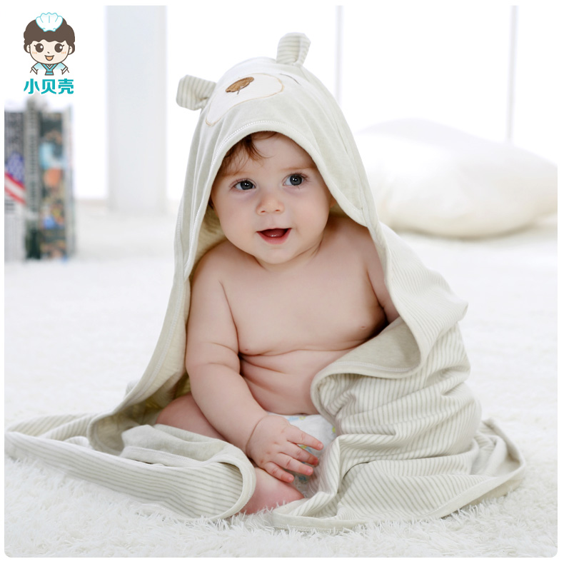 Small shells organic cotton newborn baby was coated cotton baby blankets baojin hold spring and autumn and summer newborn clothes bag
