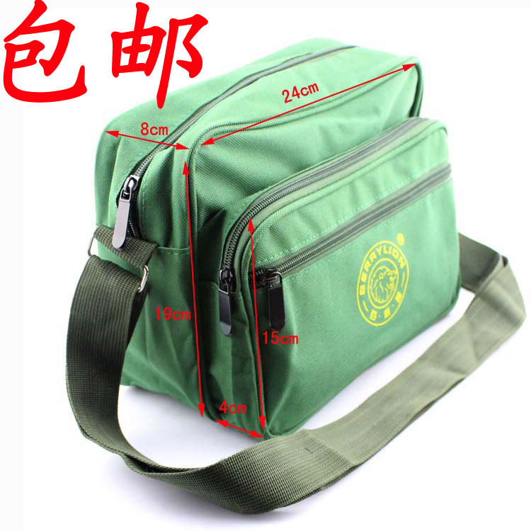 Small tool kit bag strap color army green canvas bag electrician repair kit bag backpack free shipping