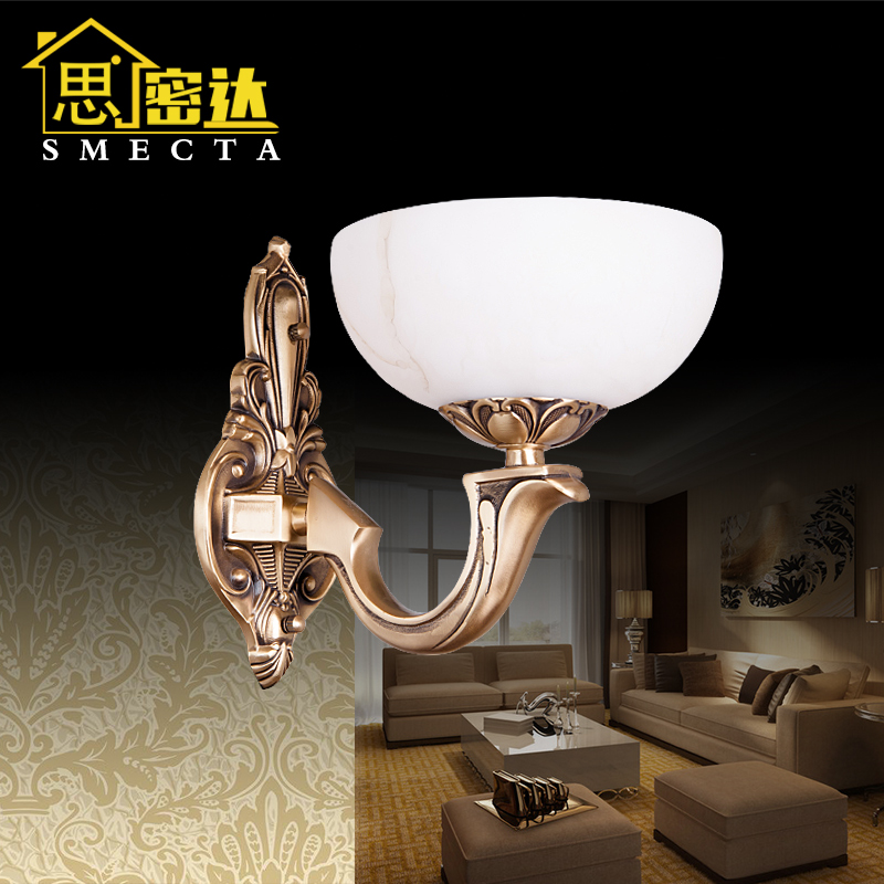 Smecta european modern minimalist wall lamp bedside wall lamp wall lamp american copper wall lamp wall lamp living room wall lamp wall lamp BL8017 wall sconce