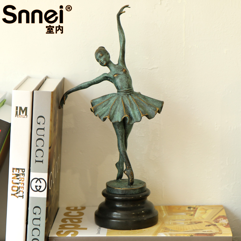 Snnei retro style copper entire copper handicrafts figures ornaments creative decorations hotel clubs