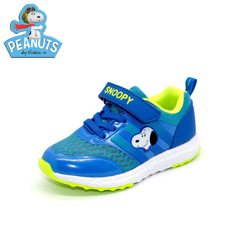 Snoopy shoes 2016 children's summer breathable mesh shoes boys girls sports shoes casual shoes slip boys