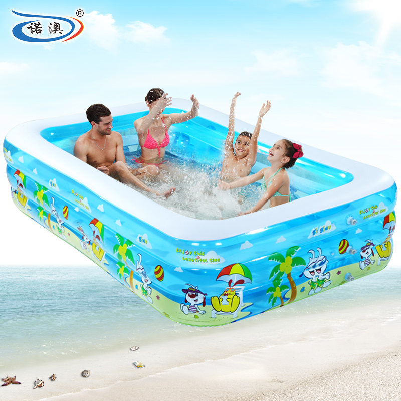Snow australia home children's inflatable swimming pool large family pool wading pool thickening