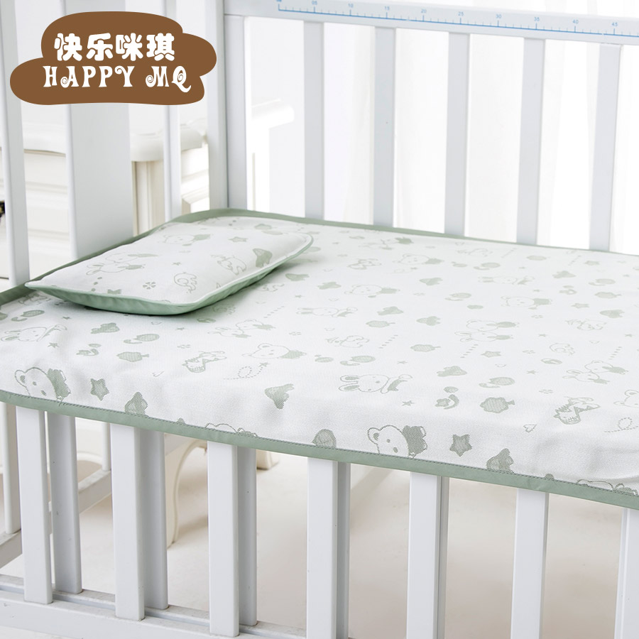 Soft bamboo fiber wash cloth multifunctional baby child children crib mat mat baby mat baby bed children piece fitted spring