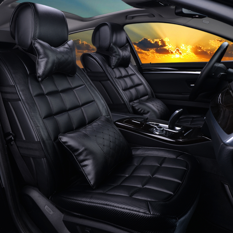 Soft leather car seat cushion four seasons general mitsubishi pajero chang jin jin chang mux fifty dmax isuzu pickup truck seat cushion