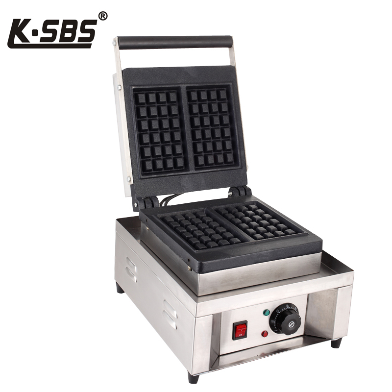 Softbrands poetry square single head rotary waffle waffle commercial/pancake machine/pancake machine/china waffles waffles Machine