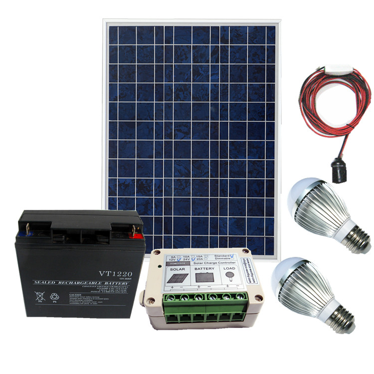 Solar panels solar panels solar power system w + controller + battery home emergency response system