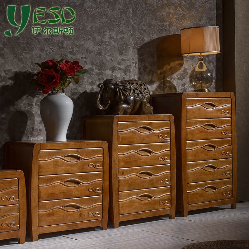 Solid wood chest of drawers chest of drawers chest of drawers chest of drawers drawer storage cabinets lockers cabinet three drawers multi drawer cabinet combination storage cabinets Specials