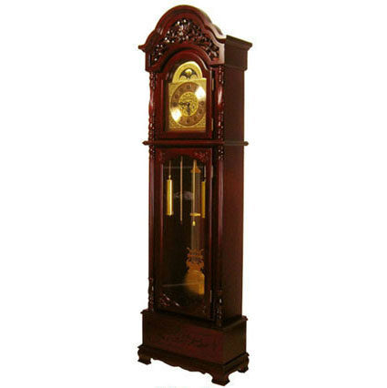 Solid wood stand elegant atmosphere/grandfather clock/european grandfather clock/living room floor clock/height 2 m