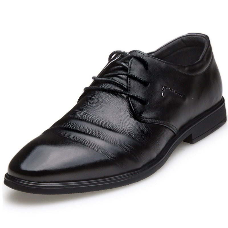 Sotirio/osorio new men's first layer of leather fold fashion business dress shoes men shoes career