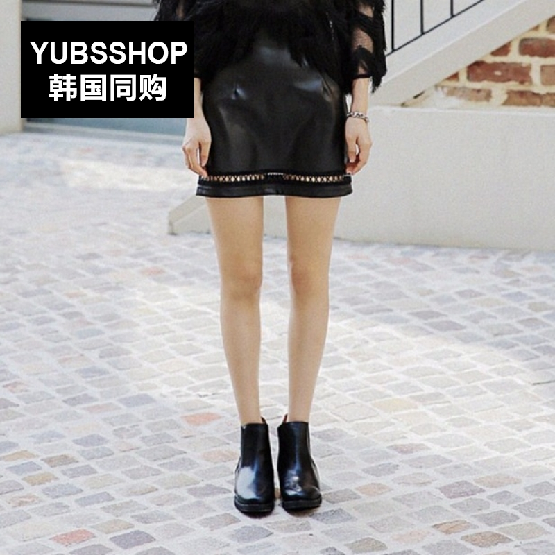 South korea YUBSSHOP2016 autumn korean version was thin skirts college wind personality hollow pendulum light perception