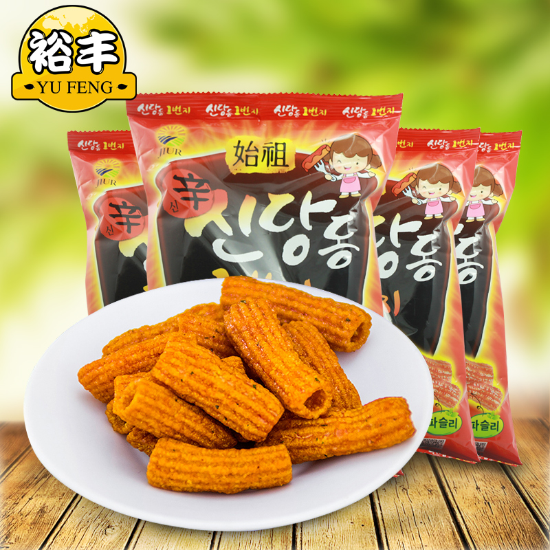 South korean imports of leisure zero food brand tteokbokki article 4 pack combination