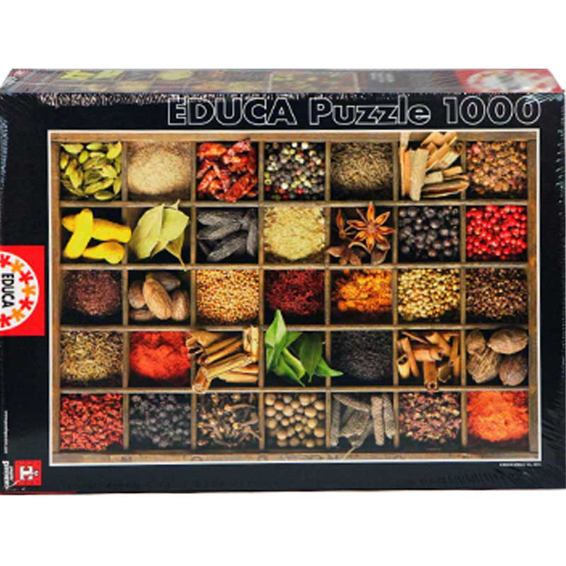 Spanish imports adult jigsaw puzzle 1000 piece spice educação collection 15524