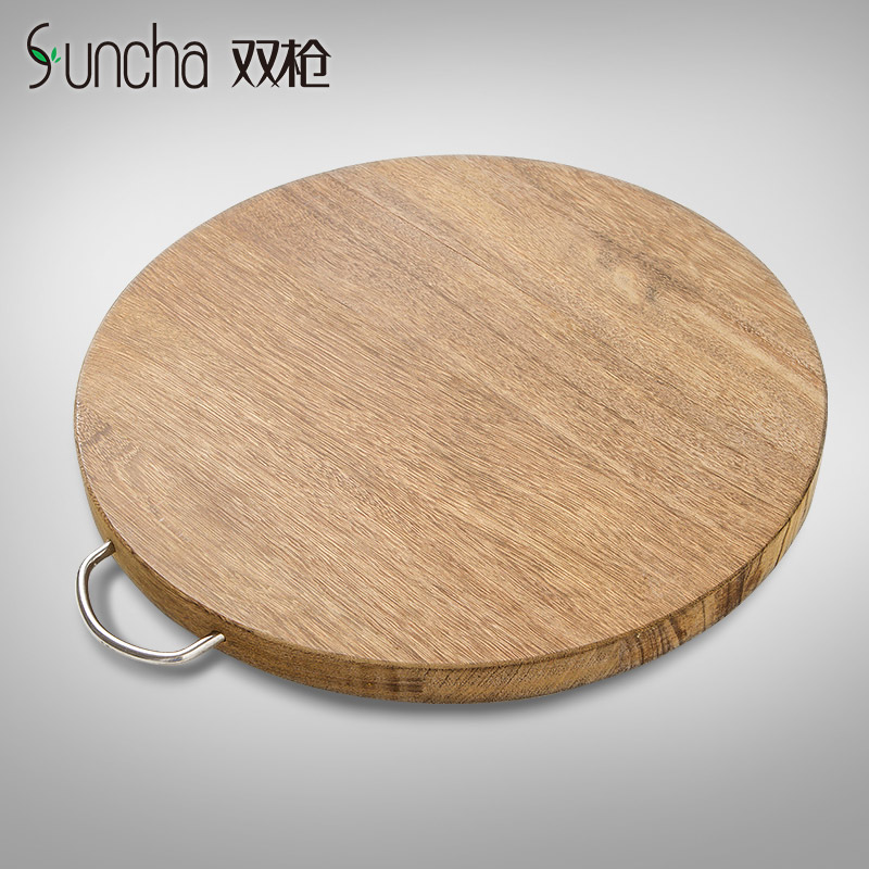 Spear wenge wood chopping wood cutting board cutting board thickened household kitchen cutting board chopping wood chopping board panel