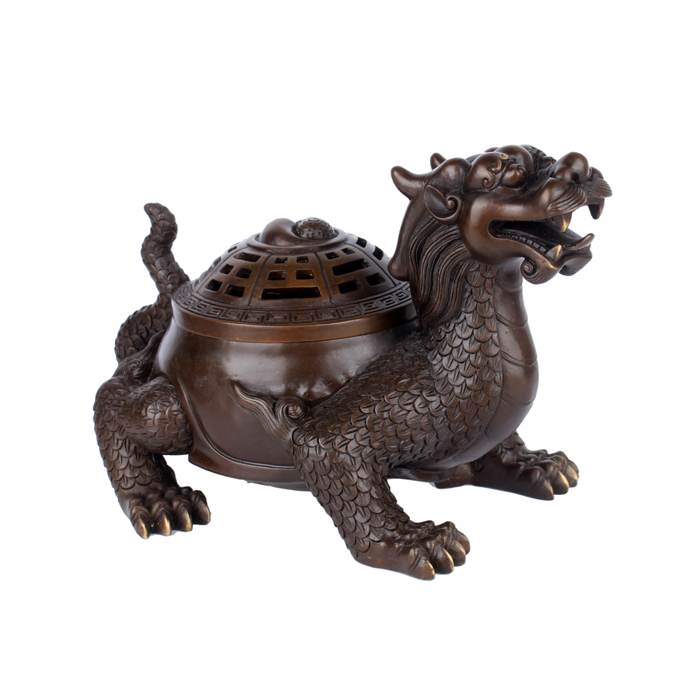the office ornaments. Get Quotations · Special Offer Free Shipping Lid Copper Dragon Turtle Ornaments Lucky Ashtray Office The G