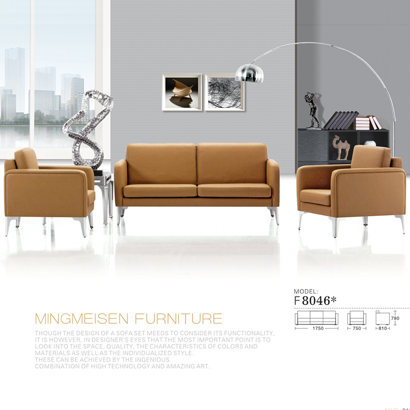 Special stainless steel just discuss parlor sofa office sofa leather sofa minimalist sofa parlor