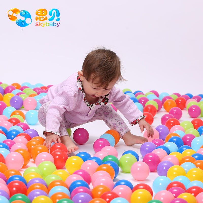 Spey wave thick marine ball ball ball toys for children environmental marine ball ball ball baby toys 50 installed