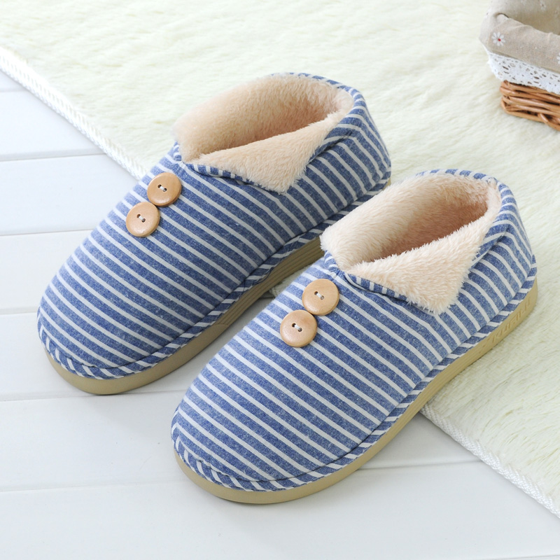 Sphere cute winter warm cotton padded shoes slip a couple of winter shoes for men and women home cotton slippers handbags with special offer