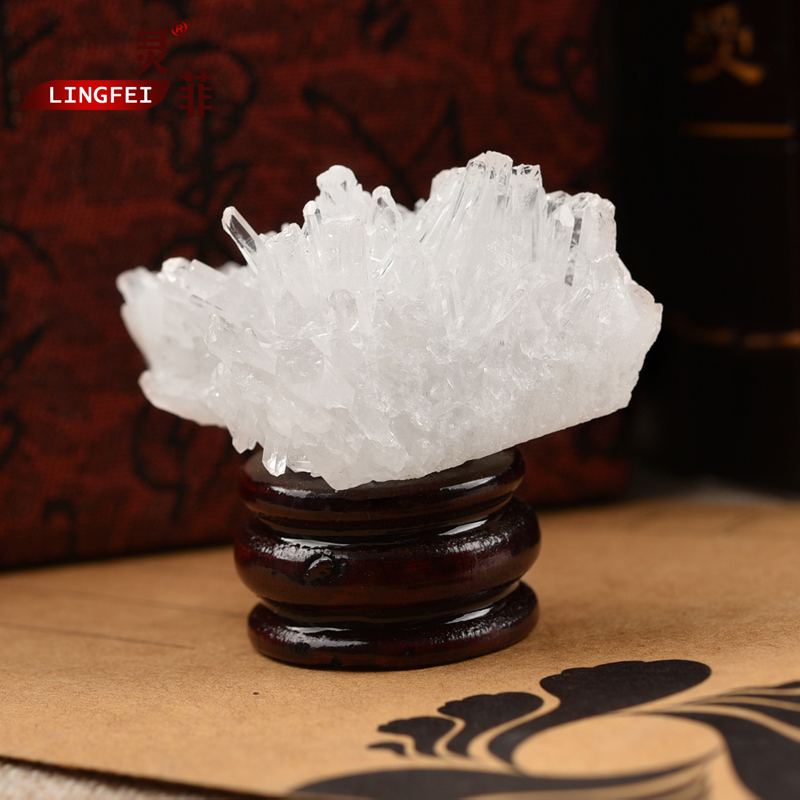Get Ations Spirit Of The Philippine Mini Small Desk Study Ornaments Druse Degaussing White Crystal