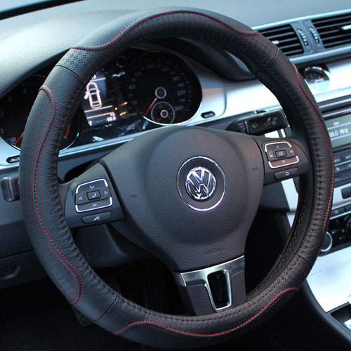 Spiritual point of leather steering wheel cover applicableäºå¨lin x5 v5 leather steering wheel cover to cover