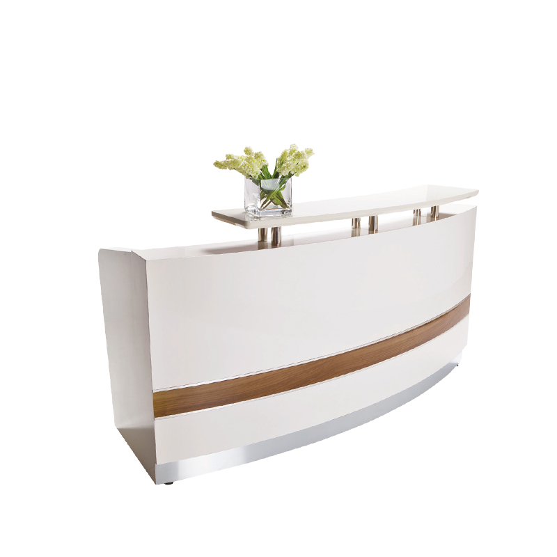 Get Quotations · Spot Marble Paint Company Front Desk Reception Desk Modern  Minimalist Fashion Rectangular Shaped Office Desk Reception