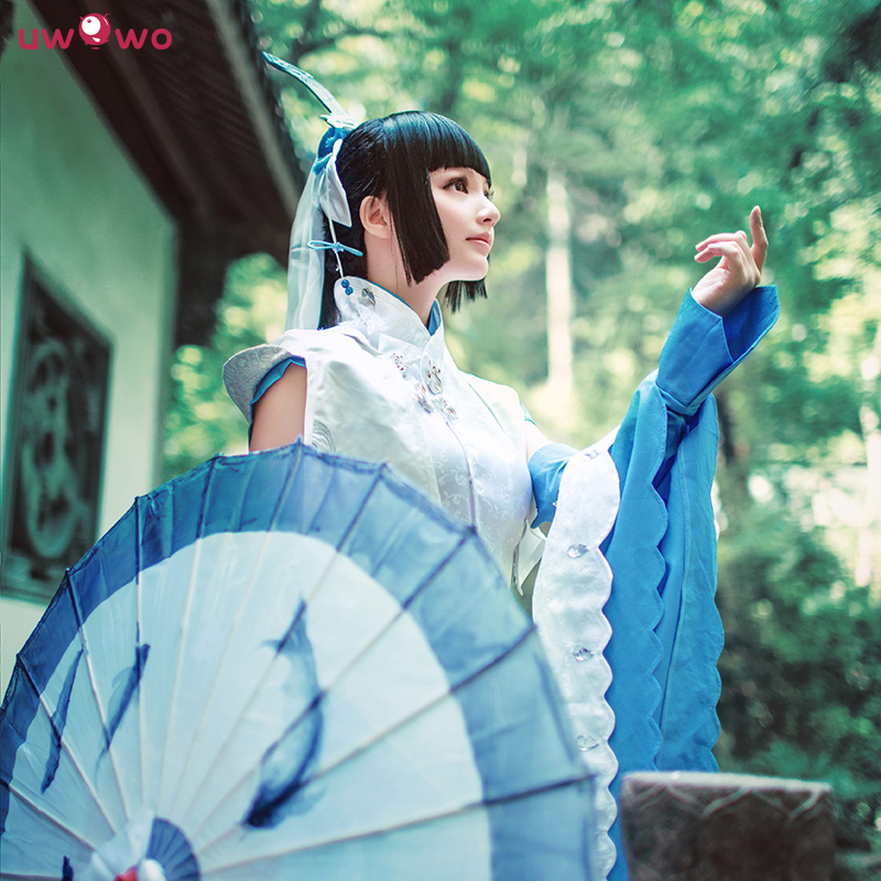 Spot [uwowo] jx 3 sword three jian wang chunyang lolita cosplay clothes shomer cos. snow cover