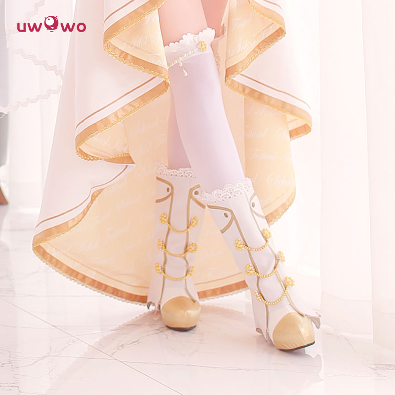 Spot [uwowo] lovelive! ll awakening full wedding shoes high heels wedding dress cosplay