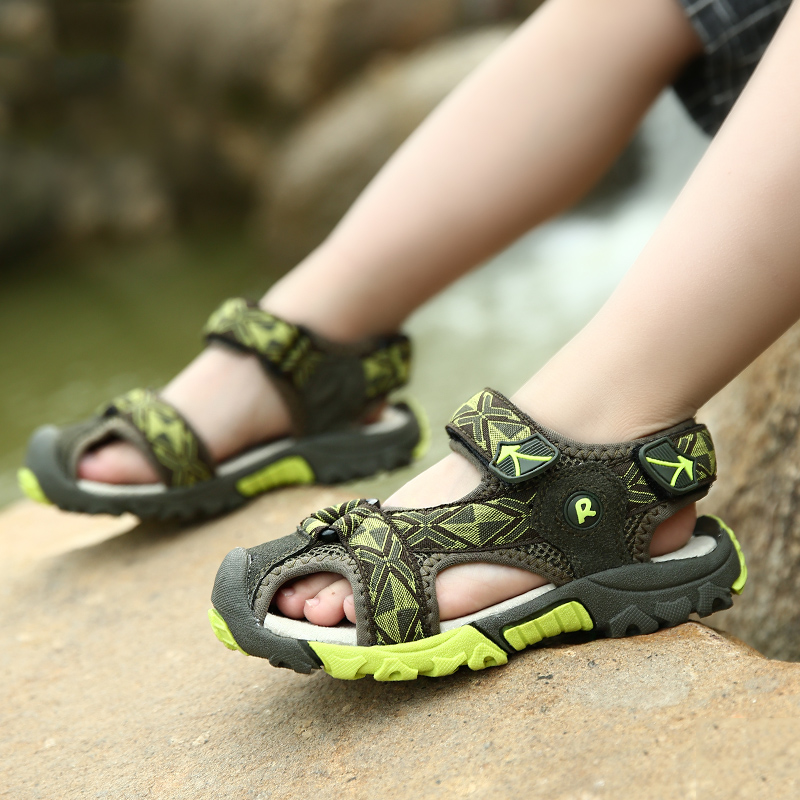 89b23e1e4 Get Quotations · Spotted rabbit 2016 new slip waterproof sandals boys  sandals boys sandals boys sandals baotou outdoor