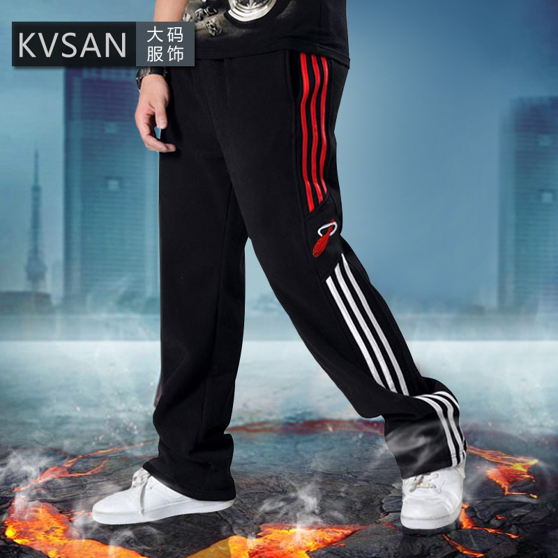 Spring and autumn men's casual pants loose hip-hop pants wei pants basketball sports jogging trousers xl nutty oversized men's pants