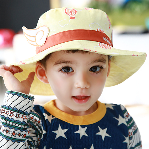 Spring baby hat children sun hat korean fisherman hat bucket hats baby hat children hat boys and girls