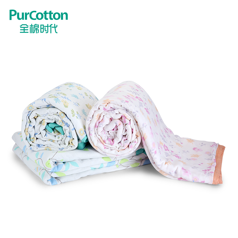 Spring era cotton gauze layer 6 combed cotton quilt air conditioning is 180x200 cm 1 pieces/bag
