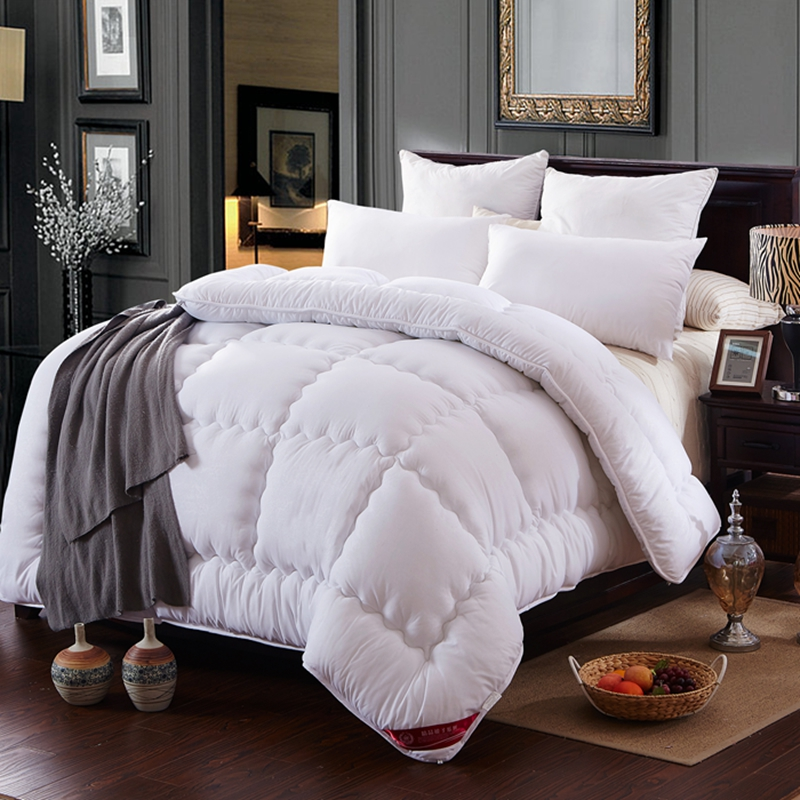 Spring is thick winter quilt single student dormitory double grinding wool quilt is the core warm autumn and winter super soft