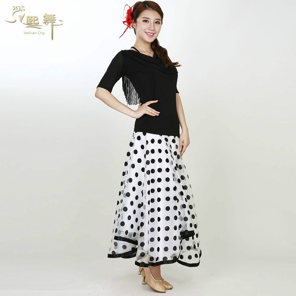 Spring new skirt skirts adult female ballroom dancing ballroom dance ballroom dancing square dance clothing dance clothes big