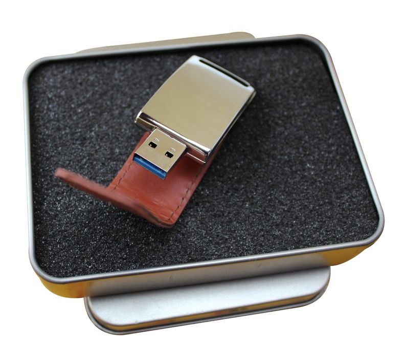 Square buckle leather holster u disk u disk u disk 16 gb usb3.0 high speed u disk usb flash drive business u disk u disk custom logo lettering