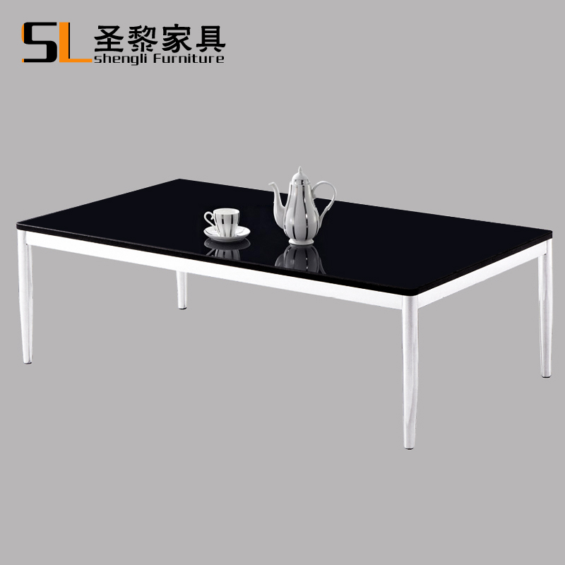 St. li office furniture plate embossed black coffee table to discuss the coffee table parlor household combination coffee table 013
