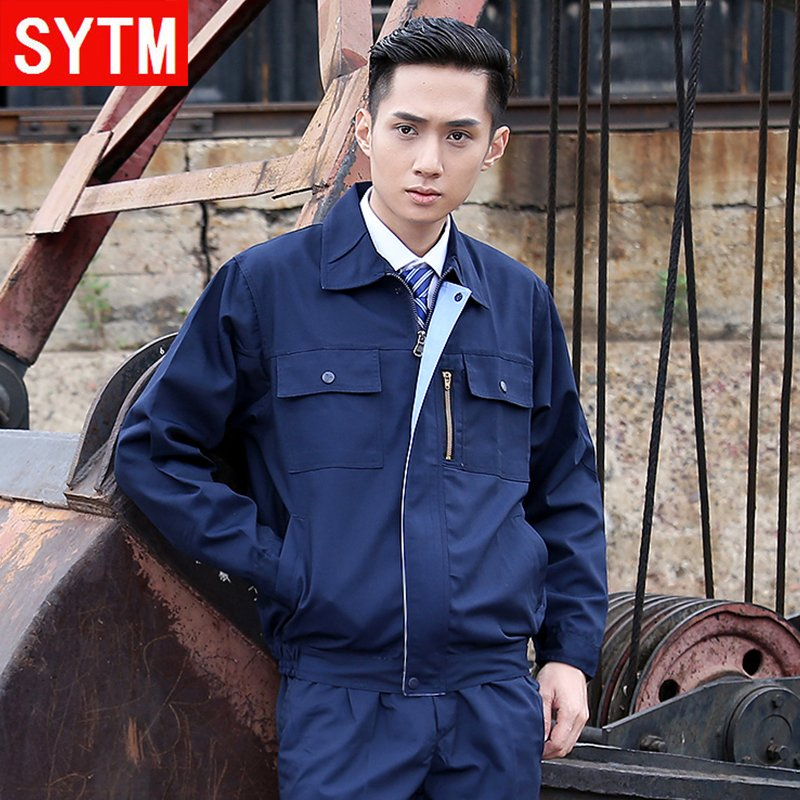 St. thailand and the united states according to spring sleeved overalls suit men and aftermarket service labor tooling work clothes security service work clothes suit