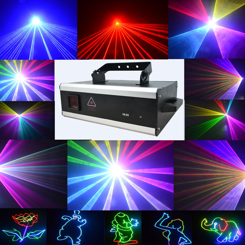 Stage lighting w full color animation laser light power full color full color laser light laser light bar