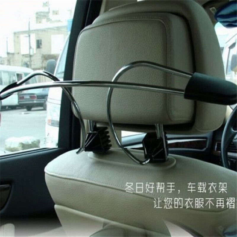 Stainless steel car fit'suit car racks car rack storage rack car with a coat hanger essential travel boxed