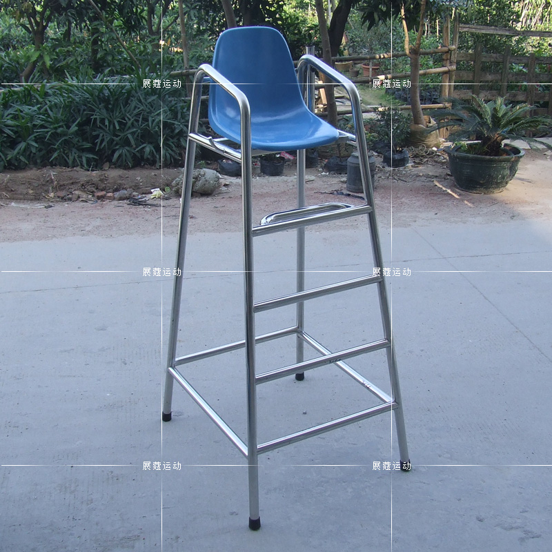 Stainless steel rescue lifeguard chair seat pool lifesaving equipment game chair umpire chair chairs overlooking